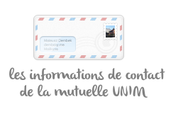 contacter unim mutuelle
