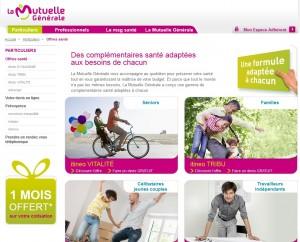 site mutuelle générale