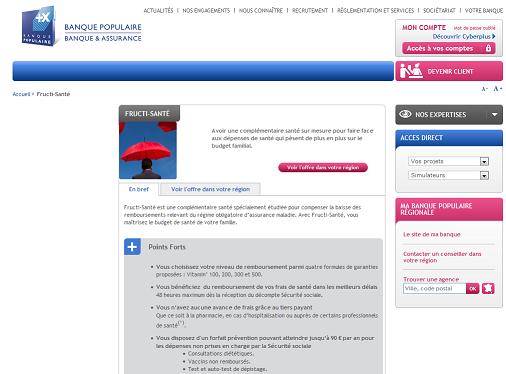 site web banque populaire