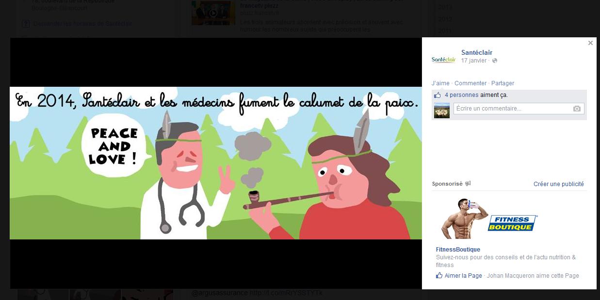 facebook santeclair