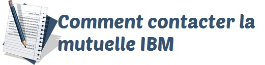contact mutuelle ibm